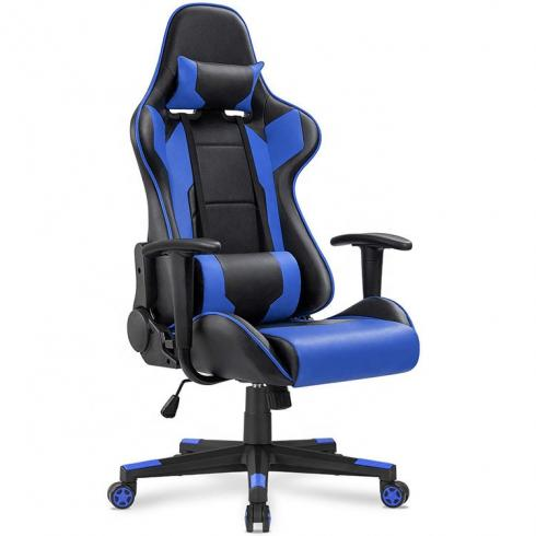 Free sample best adjustable leather recliner pc gaming chair for gadeira and caque gamer