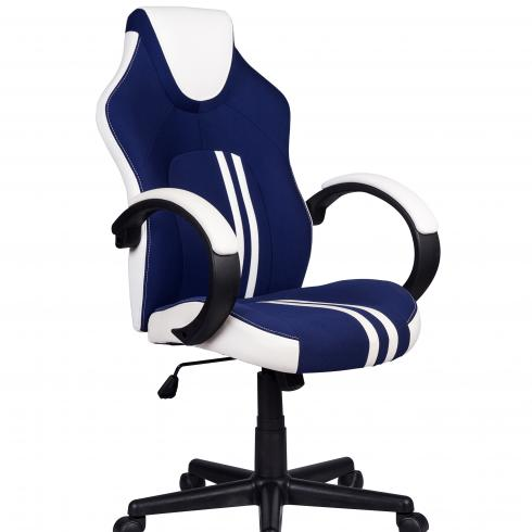 360 Degree Swivel Leather Office Chair With Castor Wheels